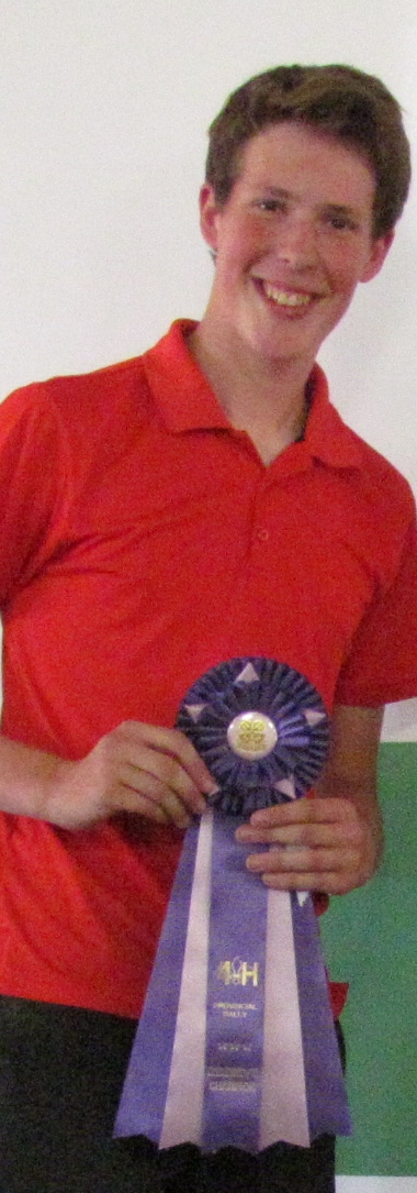 Ben Hooker - Reserve Grand Champion Public Speaker at Rally 2012