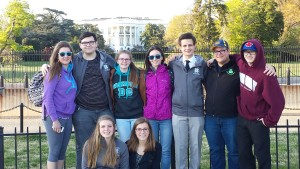 National con. In front of white house by Sue Wood