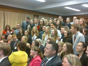 Trudeau with 4-H