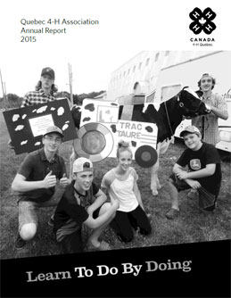 Quebec 4H 2015 Annual Report