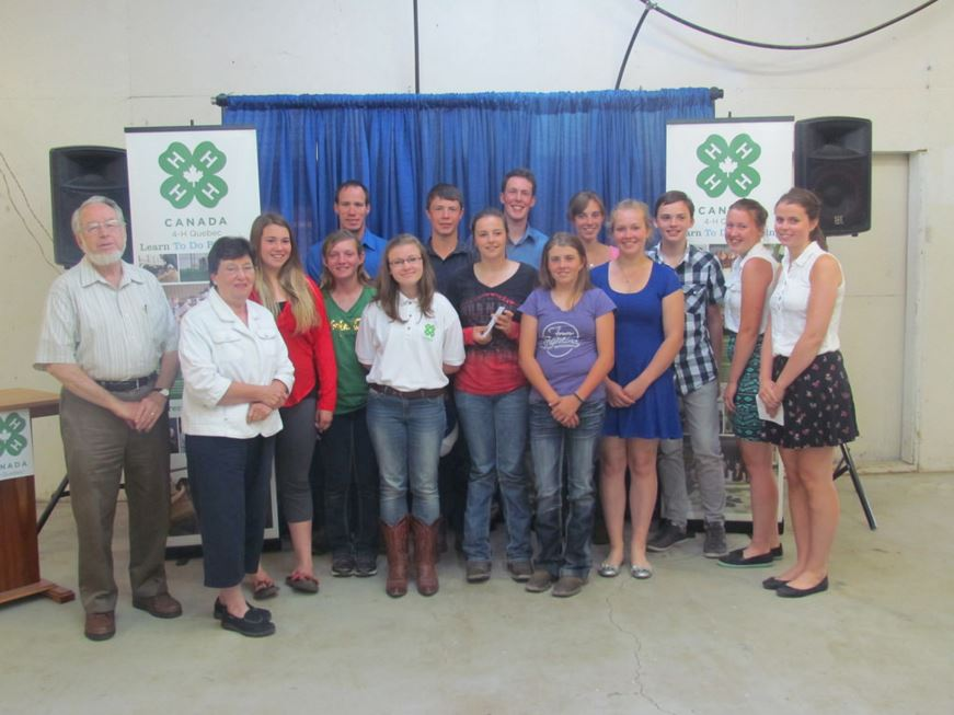 Canadian Young Speakers for Agriculture | Quebec 4-H